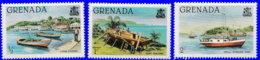 Grenade 1980. ~ YT 931/33** - Bateaux - Grenada (1974-...)