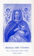 Copiano (PV) - Santino MADONNA DELLA COLOMBINA - OTTIMO P29- - Religion & Esotérisme