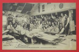 75 Paris 1902-1907 Ecole Nationale Des Beaux-Arts Architecture Atelier Pascal TBa Sans éditeur Dos Scanné - Bildung, Schulen & Universitäten