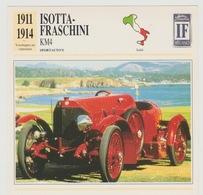Verzamelkaarten Collectie Atlas: Isotta-fraschini KM4 - Voitures