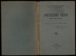 POLITEISMO GRECO (Storia Della Religione) - Religion