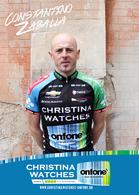 CARTE CYCLISME CONSTANTINO ZABALLA TEAM CHRISTINA - ONFONE 2013 - Cycling