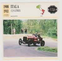 Verzamelkaarten Collectie Atlas: Itala 12,9 Litres - Voitures