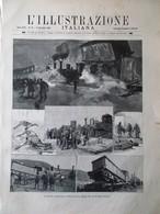 L'Illustrazione Italiana 22 Novembre 1891 Viterbo Ponte Galera Giacinto Gallina - Avant 1900