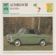 Verzamelkaarten Collectie Atlas: Autobianchi Bianchina - Voitures