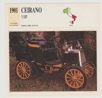 Verzamelkaarten Collectie Atlas: Ceirano 5 HP - Voitures