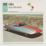 Verzamelkaarten Collectie Atlas: GHIA Gilda Streamline - Voitures