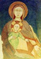 Santino VERGINE MARIA, Madonna Venerata Nel Santuario Di Valdarno - Albizzate - PERFETTO P29- - Religion & Esotericism