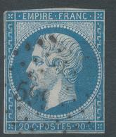 Lot N°55719   N°14A, Oblit PC 599 Candé, Maine-et-Loire (47), Ind 5 - 1853-1860 Napoleon III
