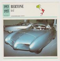 Verzamelkaarten Collectie Atlas: Bertone BAT - Voitures