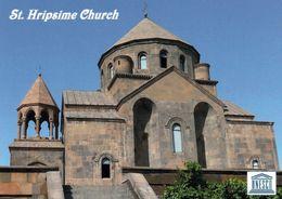 1 AK Armenien * Die Sankt-Hripsime-Kirche In Etschmiadsin - Erbaut Im 7. Jh. - Seit 2000 UNESCO Weltkulturerbe * - Armenia