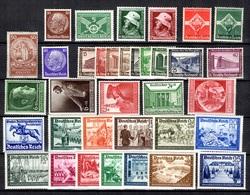 Allemagne/Reich Belle Petite Collection Neufs ** MNH 1924/1941. Bonnes Valeurs. TB. A Saisir! - Collections