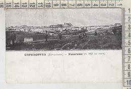CAPRACOTTA CAMPOBASSO PANORAMA 1911 - Campobasso