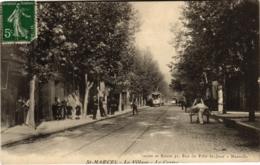 CPA MARSEILLE - St-Marcel Le Village Le Centre (986324) - Saint Marcel, La Barasse, Saint Menet