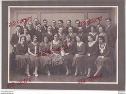 Au Plus Rapide Etudiantes étudiants Institut Dentaire Dentiste 1928 Photographe Sylvestre Lyon Beau Format Poupée - Personnes Identifiées