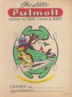 Pastille Pulmoll  , Le Lièvre Et La Tortue   , Protège Cahier  ///   Juin   20 ///  Ref.  11.520 - Book Covers