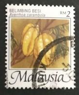 128. MALAYSIA USED STAMP FRUITS - Malesia (1964-...)