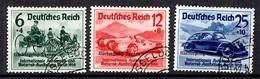 Allemagne/Reich YT N° 629A/629C Oblitérés. B/TB. A Saisir! - Germany