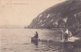 Nantua (01) - Bords Du Lac - Pêcheurs - Nantua