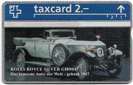 Switzerland - Swisscom (L&G) - K Series - K-93/32 - Rolls Royce Silver Ghost 1907 - 302L - 02.1993, 2Fr, Mint - Suiza