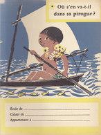 Ou S'en Va T-il ? Réponse Au Dos  , Protège Cahier  ///   Juin   20 ///  Ref.  11.520 - Book Covers
