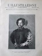 L'Illustrazione Italiana 6 Dicembre 1891 Galleria Borghese Roma Raffaello Venere - Avant 1900