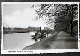 Meppen Ems Partie An Der Schleuse/ Boote - Meppen