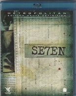DVD Blu Ray Seven Avec BRAD PITT Et MORGAN FREEMAN - Policiers