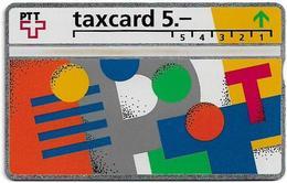 Switzerland - Swisscom (L&G) - V Cards - V-17A - Visuelle PTT - 207E - 07.1992, 5Fr, 45.000ex, Mint - Zwitserland