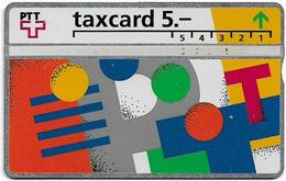 Switzerland - Swisscom (L&G) - V Cards - V-17A2 - Visuelle PTT - 302G - 02.1993, 5Fr, 8.000ex, Used - Zwitserland