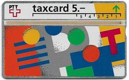Switzerland - Swisscom (L&G) - V Cards - V-17A3 - Visuelle PTT - 303C - 03.1993, 5Fr, 20.000ex, Used - Zwitserland