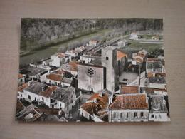 Carte Ancienne LA ROCHEBEAUCOURT  église Vue Aérienne - France