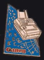 65395-Pin's-Canon.Photo.signé Decat.Paris. - Fotografía