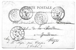 Carte Postale Gérardmer - CàD Gérardmer-Troyes-Plombières-St Lyé - Storia Postale