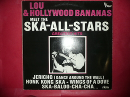 LP33 N°4454 - LOU & THE HOLLYWOOD BANANAS MEET TTHE SKA-TALITES - TRES TRES BON - Reggae