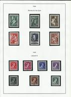Belgique Ensemble De Timbres De 1944 à 1946 Série Complètes - Belgium