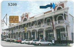 Zimbabwe - PTC - Bulawayo Gallery - 200Z$, Chip Gem5 Black, Exp. 12.2001, 200.000ex, Used - Zimbabwe