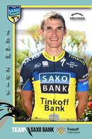CARTE CYCLISME ROMAN KREUZIGER TEAM SAXO BANK - TINKOFF 2013 - Cyclisme