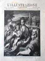L'Illustrazione Italiana 20 Dicembre 1891 Mistero Natale Strenne Marano Deputati - Avant 1900