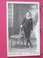 Photographie - Femme - Photo Sur Carton épais 6.7x10.7 - Photographie Fornallaz Au Havre - Recto-verso - Persone Identificate