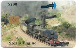 Zimbabwe - PTC - Steam Train - Exp. 12.2000, 200z$, Used - Zimbabwe