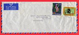 Ghana 19.....  To Switzerland - Ghana (1957-...)
