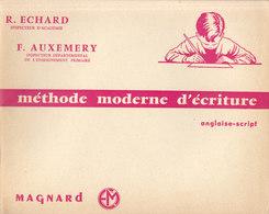 Cahier : Méthode Moderne D'écriture De Chez Magnard  ///   Juin   20 ///  Ref.  11.520 - Book Covers