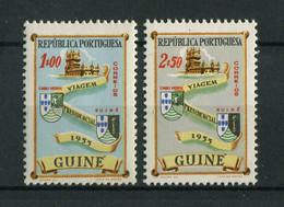 Portuguese Guinea Guine 1955 PRESIDENTIAL VISIT Complete Set MNH, FVF - Portuguese Guinea