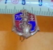 REDUCTION :71° Bataillon Colonial Du Génie, En E.O, ETAT VOIR PHOTO  . POUR TOUT RENSEIGNEMENT ME CONTACTER. REGARDEZ ME - Army
