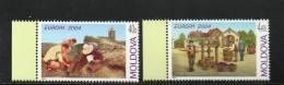 EUROPA MOLDAVIE N°422/423**  - V ACANCES - Cote 6 € - 2004