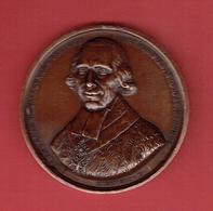 MEDAILLE CUIVRE 1821 ALEXANDRE ANGELIQUE DE TALLEYRAND PERIGORD 1736 1821 GRAVEUR PIERRE JOSEPH DEMONGE CHARDIGNY - Adel