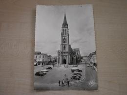 Carte Ancienne BERGERAC Cathédrale Et Anciennes Voitures 2 CV,   Peugeot? - Bergerac