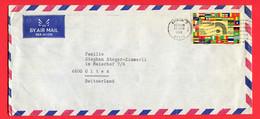 Kenia  1972 Nairobi  To Switzerland - Kenia (1963-...)