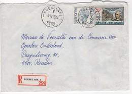 ROESELARE 1 E 1  Op Aangetekende Brief - Belgien